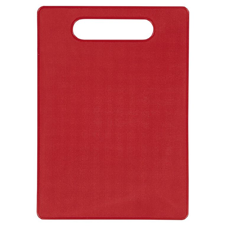Living & Co Plastic Chopping Board 34.5cm x 25.4cm Assorted, , hi-res
