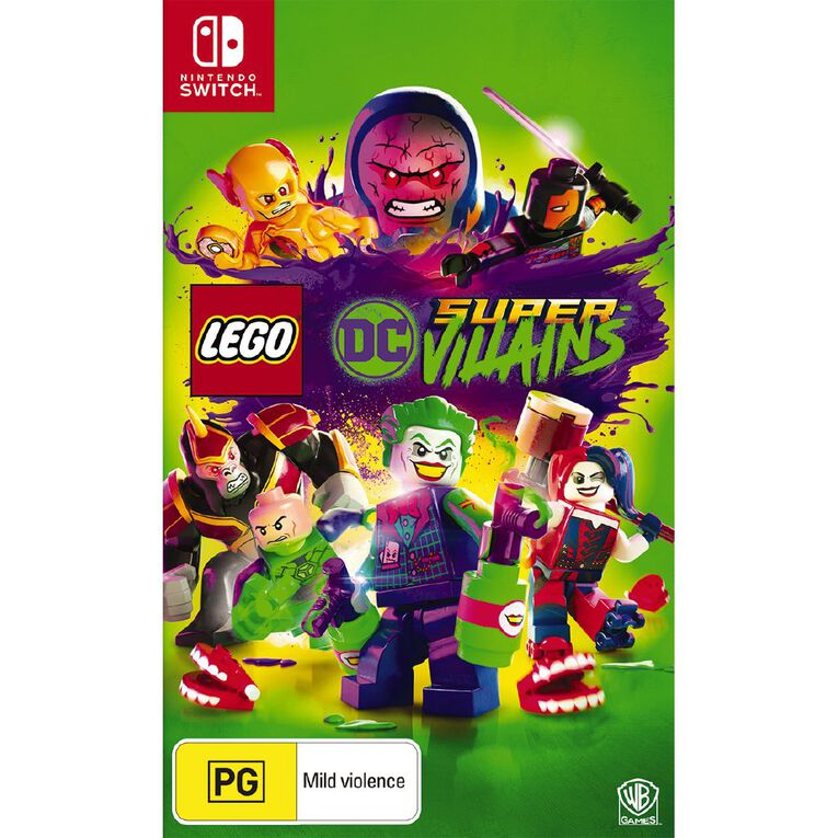 Nintendo Switch LEGO DC Supervillains, , hi-res