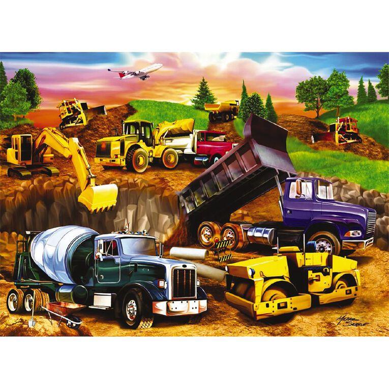 Ravensburger Construction Crowd Puzzle 60 Piece, , hi-res