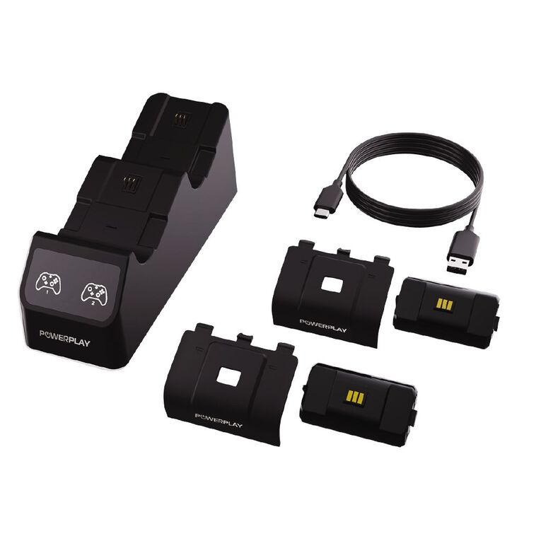 PowerPlay XBS Dual Charge Station Black, , hi-res image number null