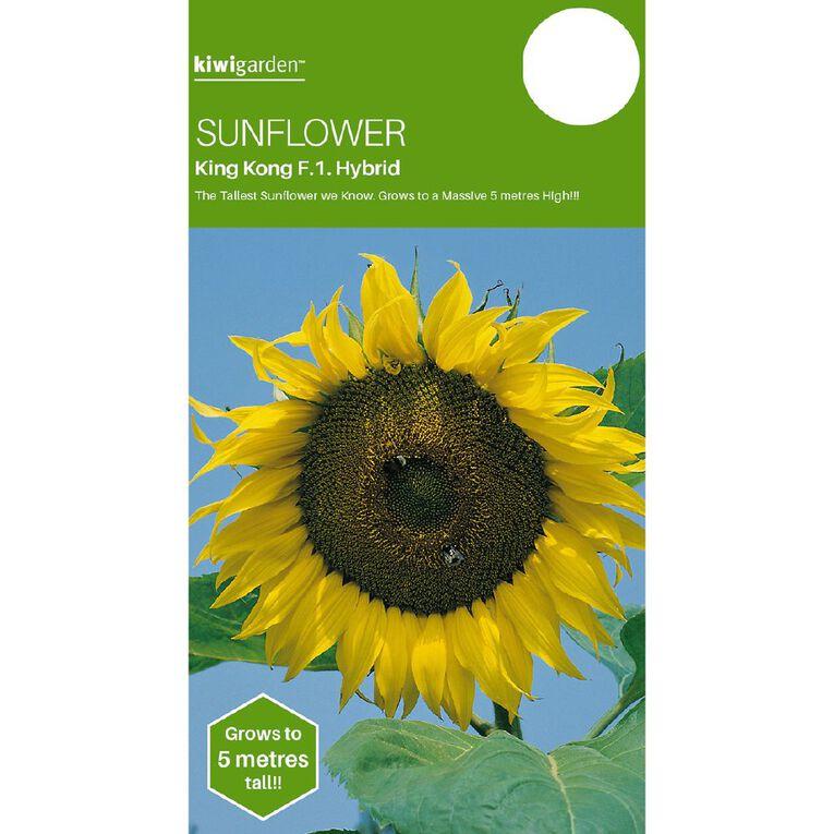 Kiwi Garden Sunflower King Kong, , hi-res