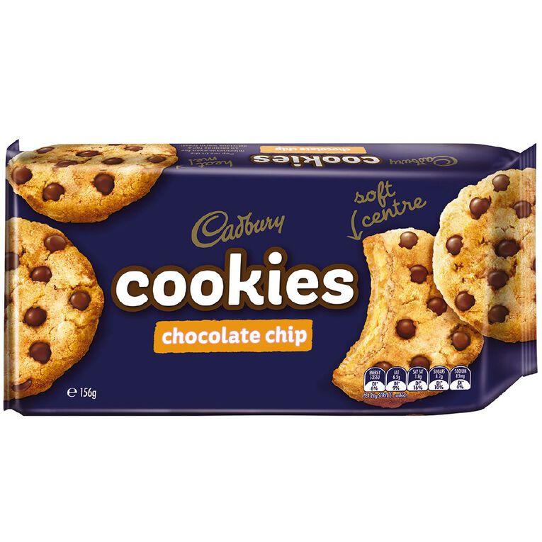Cadbury Chocolate Chip Cookies 156g, , hi-res