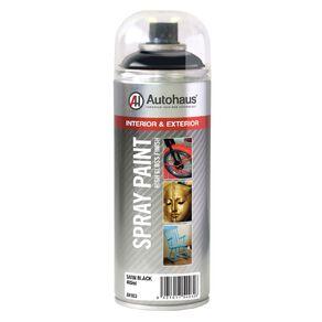 Autohaus Spray Paint Satin Black 400ml