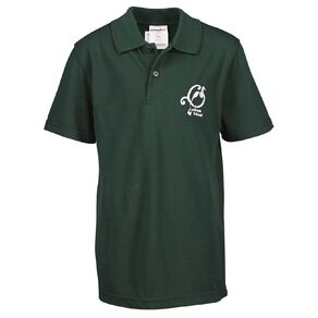 Schooltex Lucknow Short Sleeve Polo with Embroidery