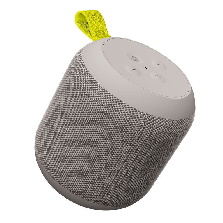 Veon IPX6 Water Resistant Bluetooth Speaker Grey, , hi-res