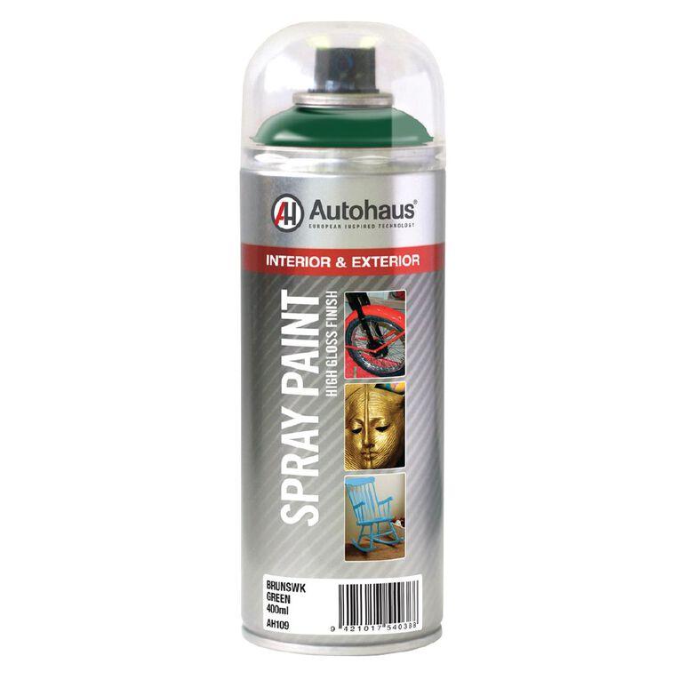 Autohaus Spray Paint Brunswick Green 400ml, , hi-res