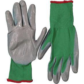 Kiwi Garden Nitrile Gloves S-M