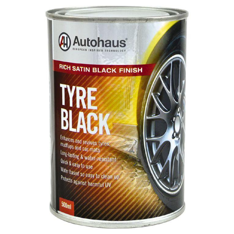 Autohaus Tyre Black 500ml, , hi-res