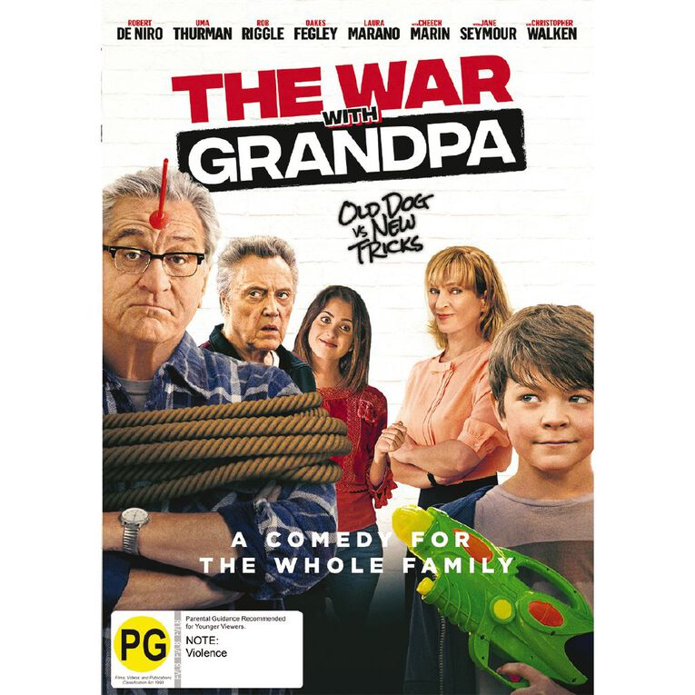 The War With Grandpa DVD 1 Disc, , hi-res