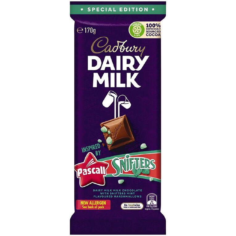 Cadbury Dairy Milk Snifter Block 170g, , hi-res