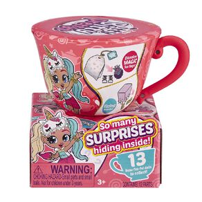 Zuru Itty Bitty Pretty Collectibles Series 1 Small Tea Cup Assorted