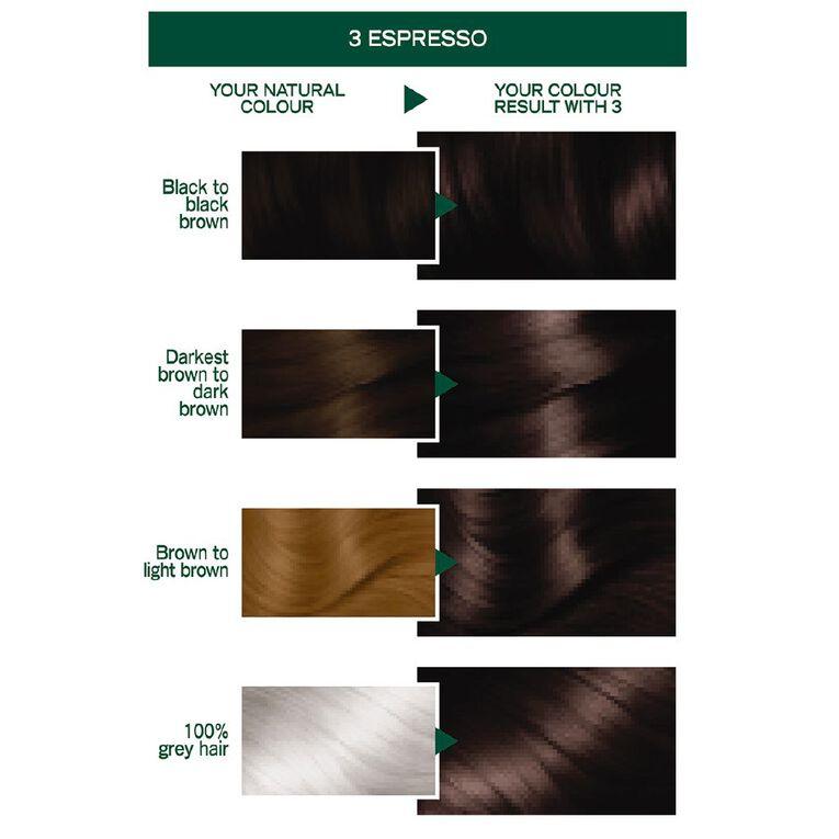 Garnier Nutrisse Permanent Creme Darkest Brown Espresso 3.0, , hi-res