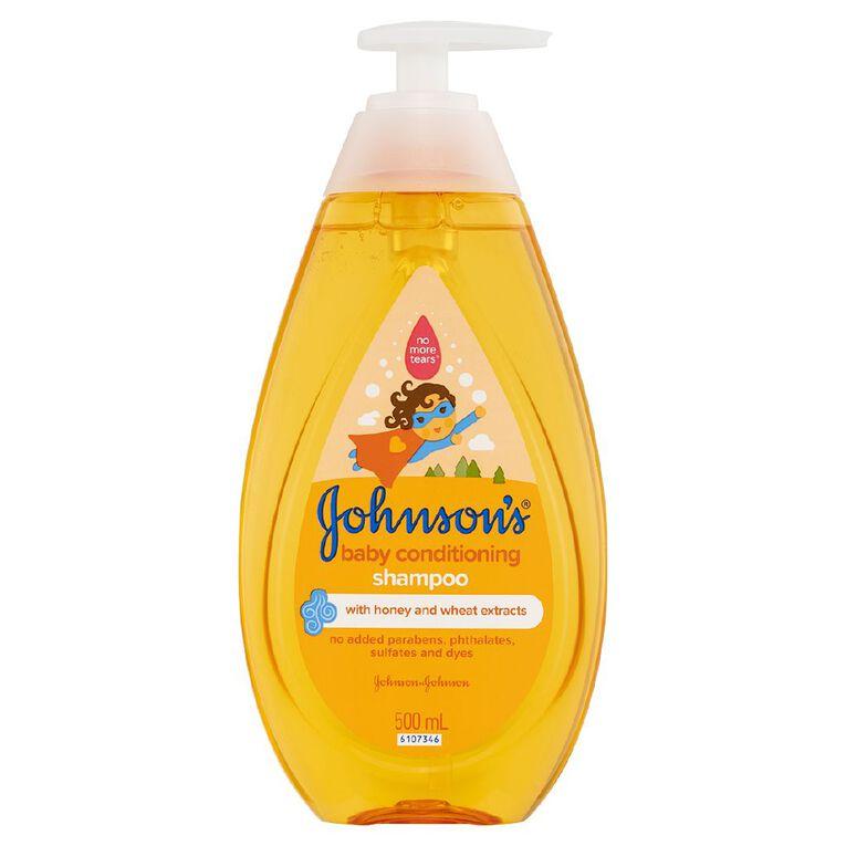 Johnson's Baby Conditioning Shampoo 500ml, , hi-res