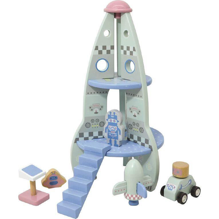 Play Studio Wooden Rocket Playset, , hi-res