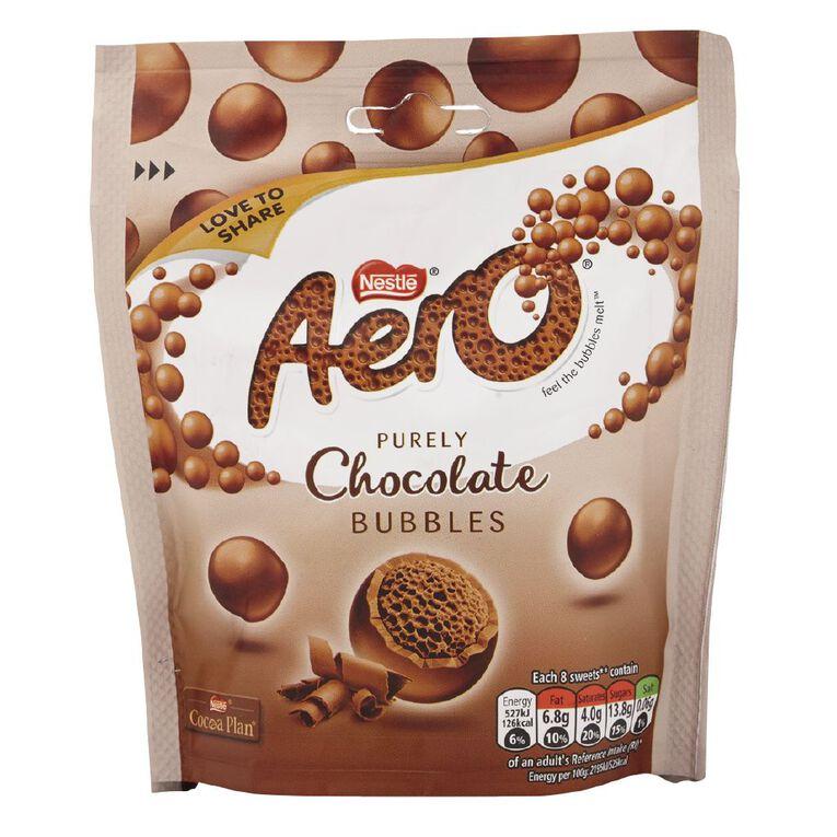 Nestle Aero Bubbles milk Pouch Bag 102g, , hi-res image number null