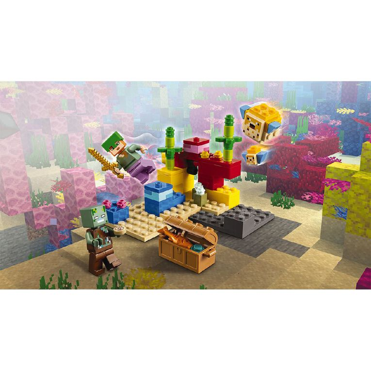 LEGO Minecraft The Coral Reef 21164, , hi-res