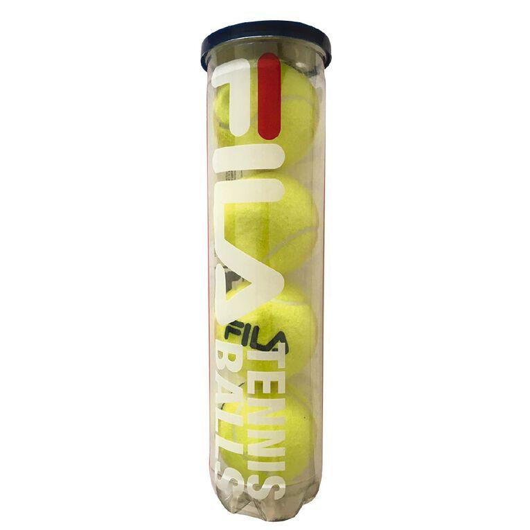 Fila Tennis Balls 4 Pack, , hi-res