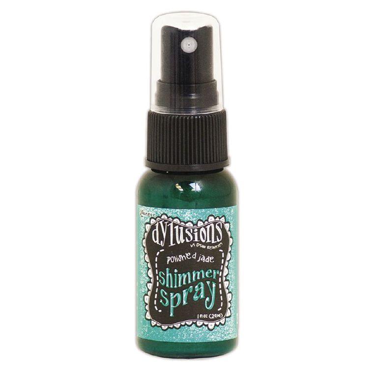 Ranger Dylusions Shimmer Spray Polished Jade, , hi-res