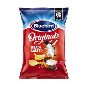 Bluebird Originals Ready Salted 150g
