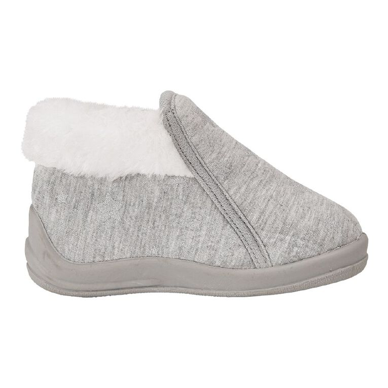 Young Original Kids' Zip Slippers, Grey Light, hi-res