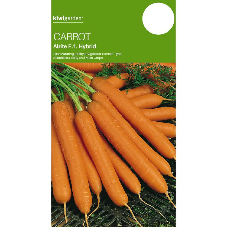 Kiwi Garden Carrot Alrite F1 Hybrid, , hi-res