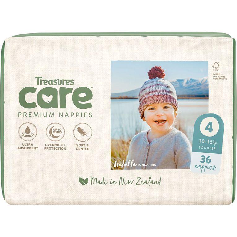Treasures Care Nappy 4 Toddler Bulk 36pk, , hi-res