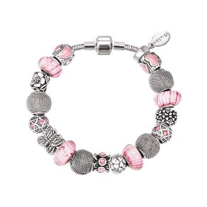 Mestige Crystals from Swarovski' Mystique Bracelet in Silver