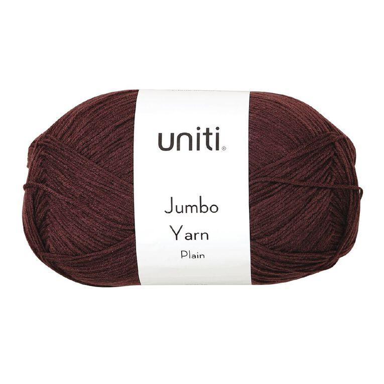 Uniti Yarn Jumbo 8 Ply Plum 300g, , hi-res