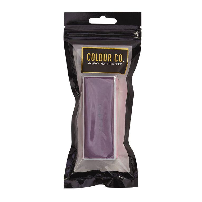 Colour Co. 4-Way Nail Buffer, , hi-res