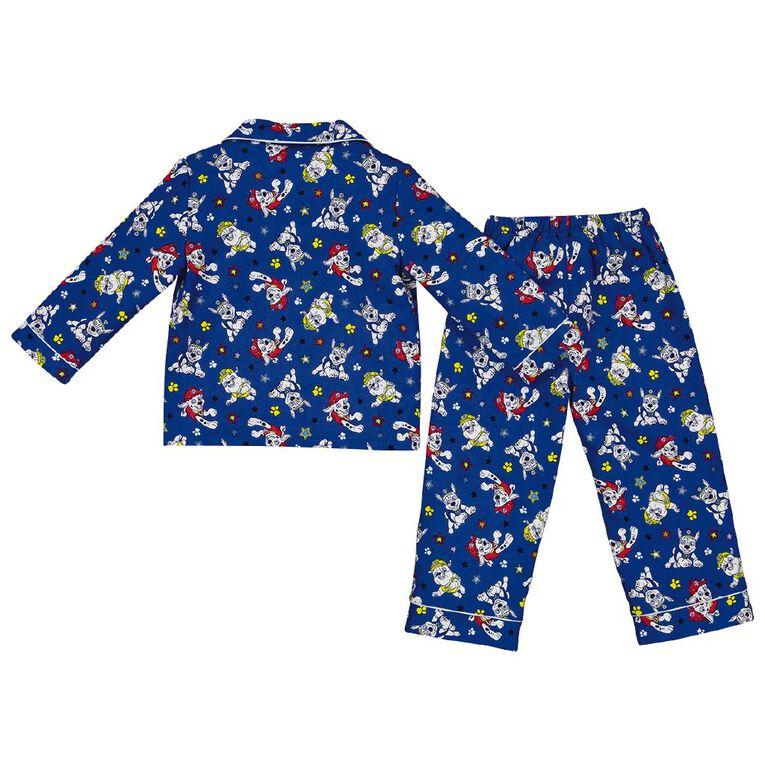 Paw Patrol Boys' Flannel Pyjamas, Navy, hi-res