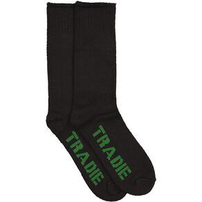 Tradie Men's Work Socks Bamboo 2 Pack