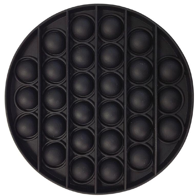 Fidget Pop-It Circle Black, , hi-res