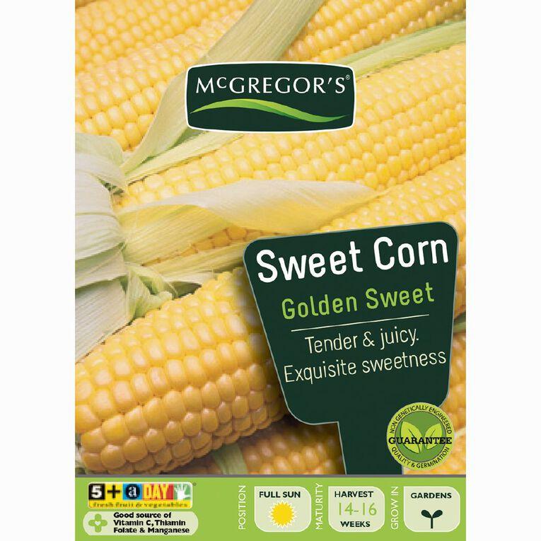 McGregor's Golden Sweet Corn Vegetable Seeds, , hi-res