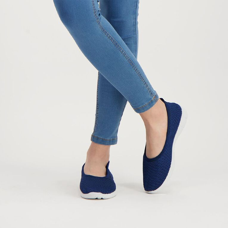 H&H Ava Casual Shoes, Navy, hi-res