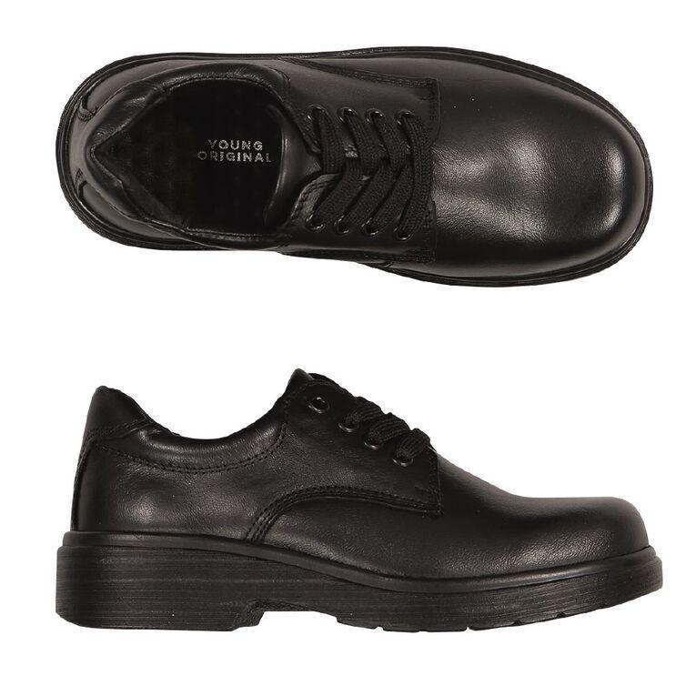 Young Original Divide Leather Junior Shoes, Black, hi-res
