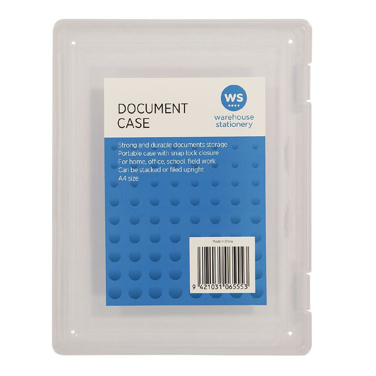 WS Document Carry Case A4, , hi-res