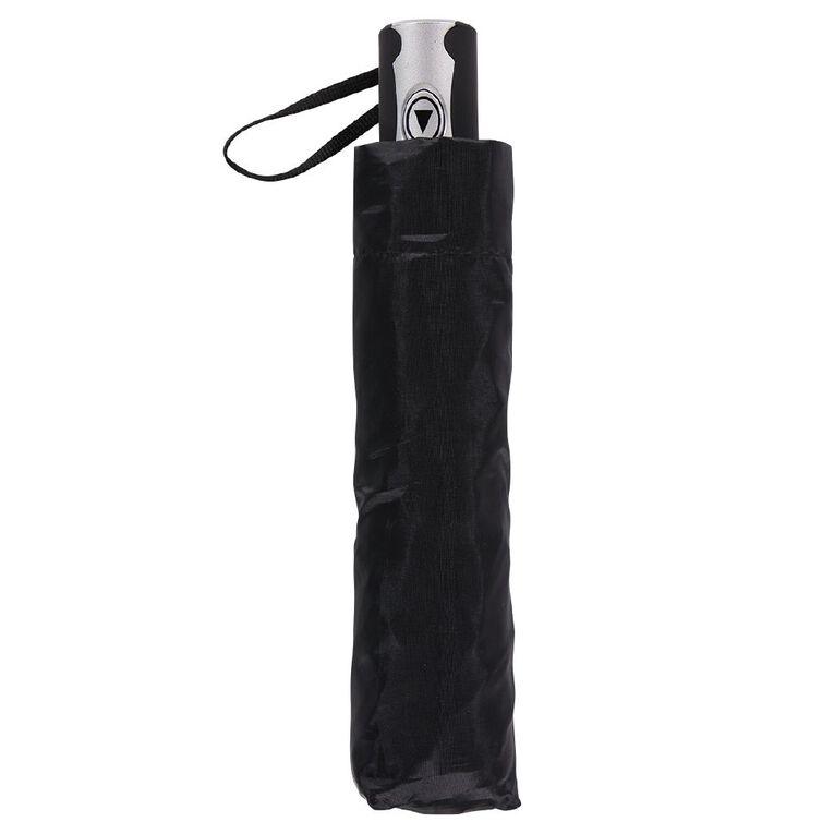 H&H Women's Mini Fashion Umbrella, Black NEW WNT21, hi-res