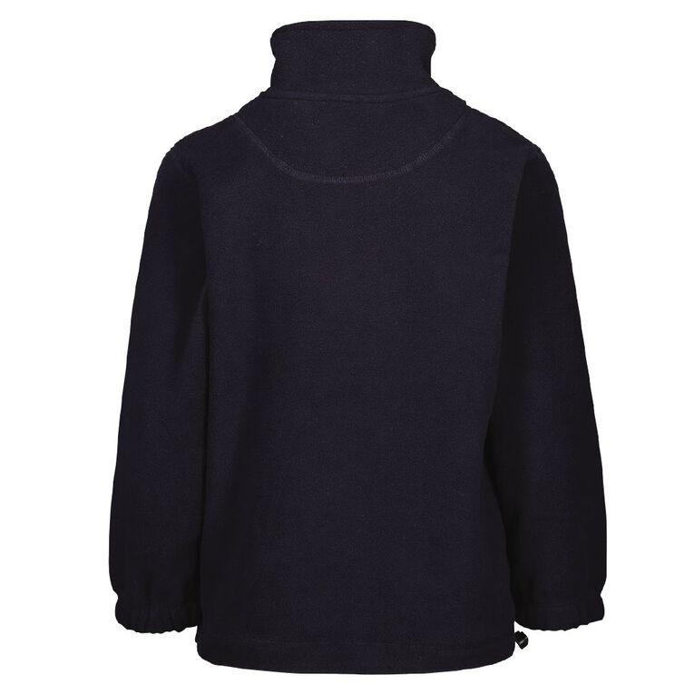 Schooltex Ashgrove School Polar Fleece Top with Embroidery, Navy, hi-res
