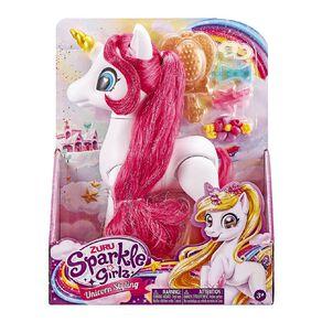 Zuru Sparkle Girlz Sparkle Unicorn Styling Head