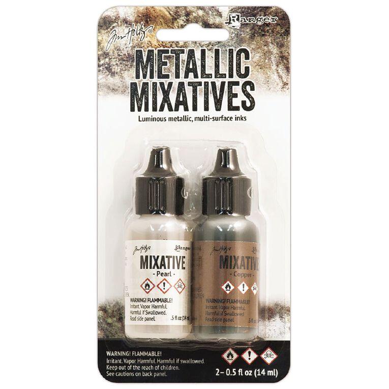 Ranger Tim Holtz Metallix Mixative Pearl/Copper, , hi-res