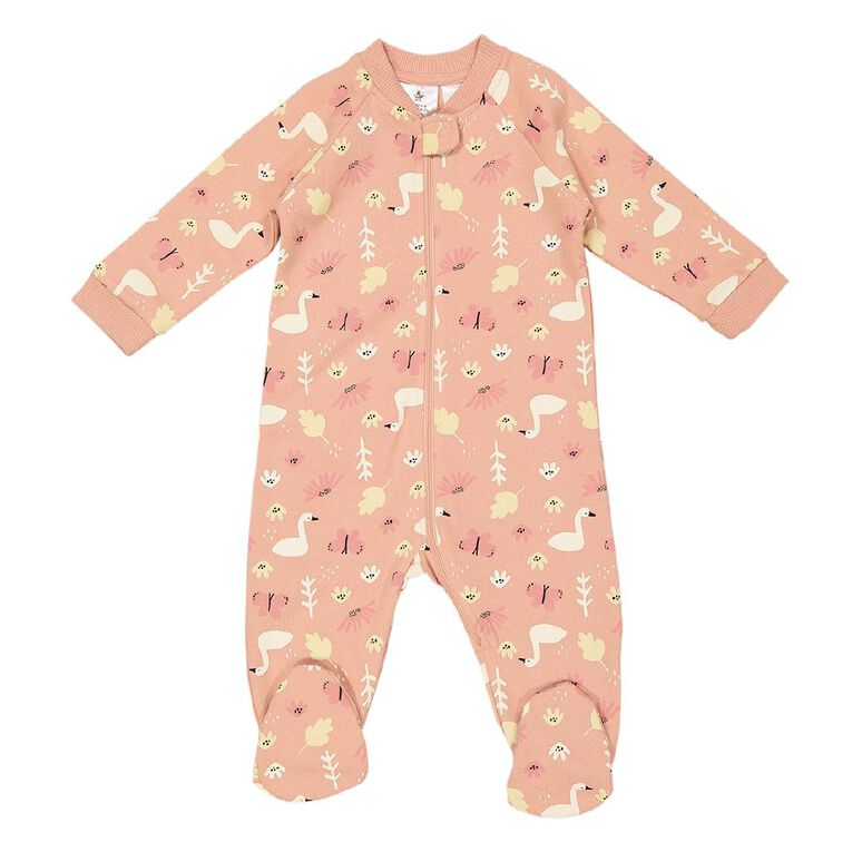 Young Original Baby Snuggly All In One, Pink Mid, hi-res