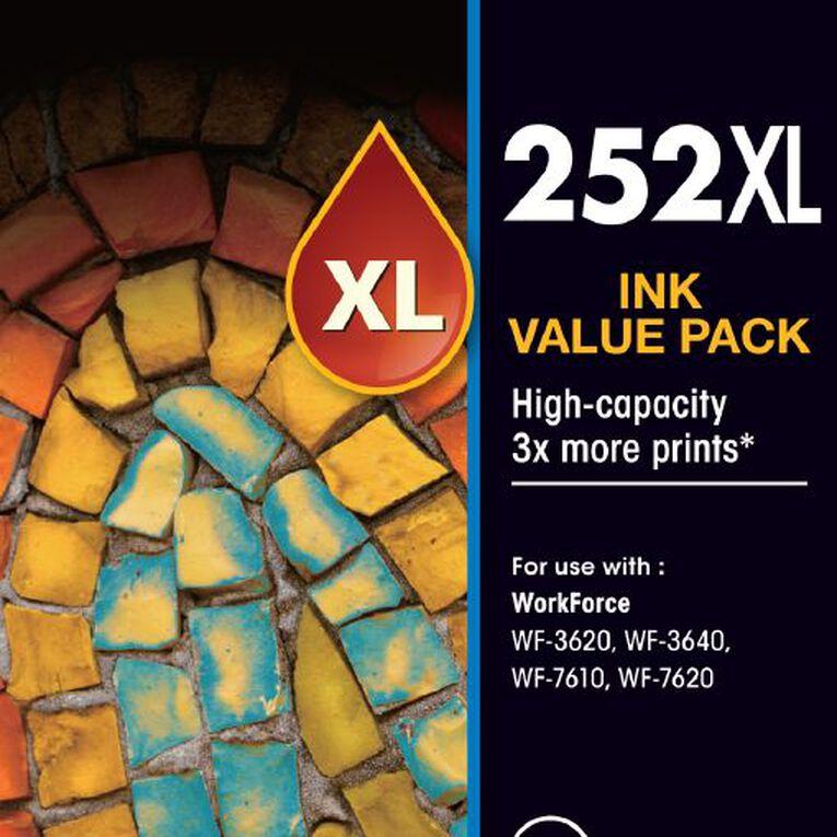 Epson Ink 252XL Value 4 Pack, , hi-res