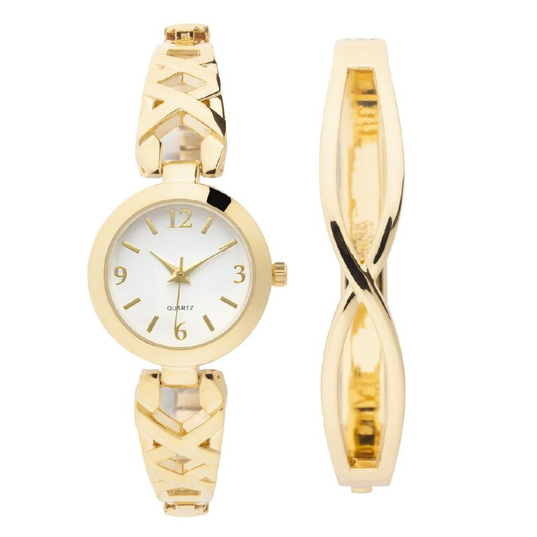 Eternity Women Analogue Watch Vintage Gold, , hi-res image number null
