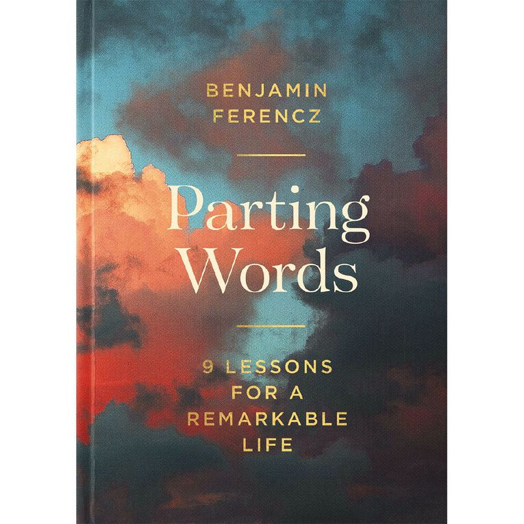 Parting Words by Benjamin Ferencz, , hi-res