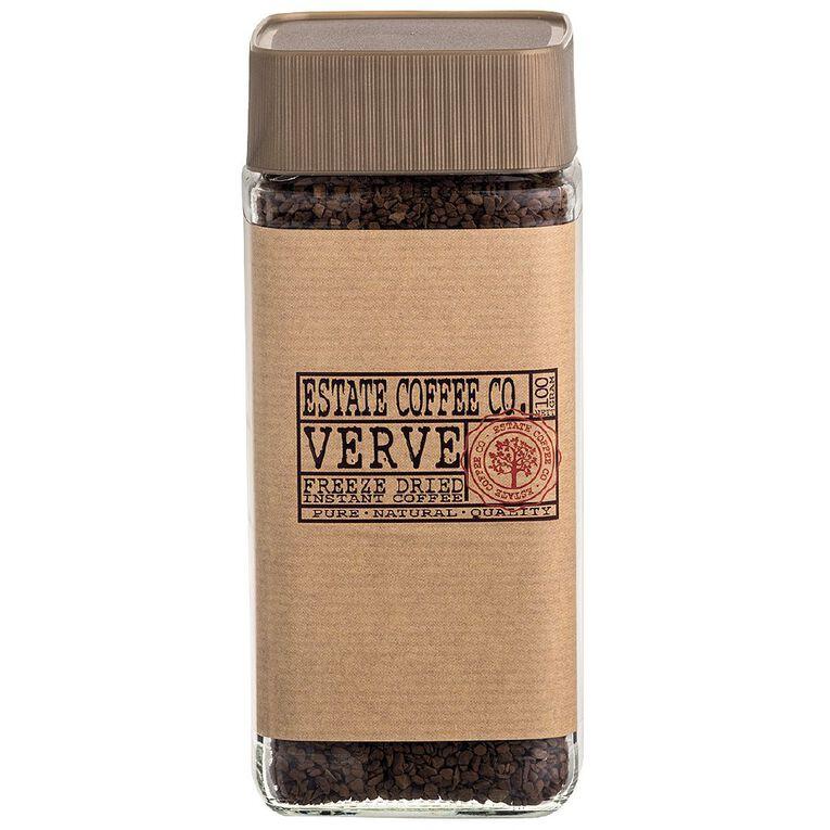 Estate Ver Original Freeze Dried Instant Coffee 100g, , hi-res