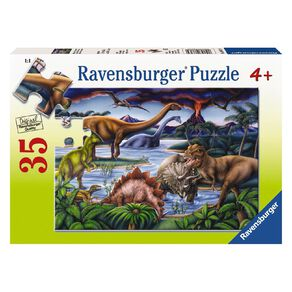 Ravensburger Dinosaur Playground Puzzle 35 Piece