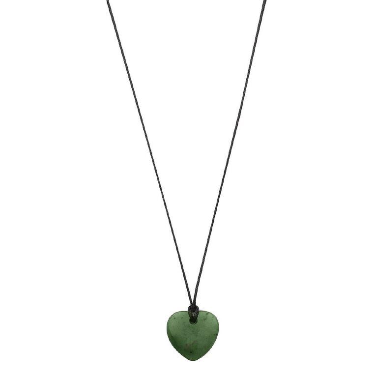 Jade Small Heart Pendant, , hi-res
