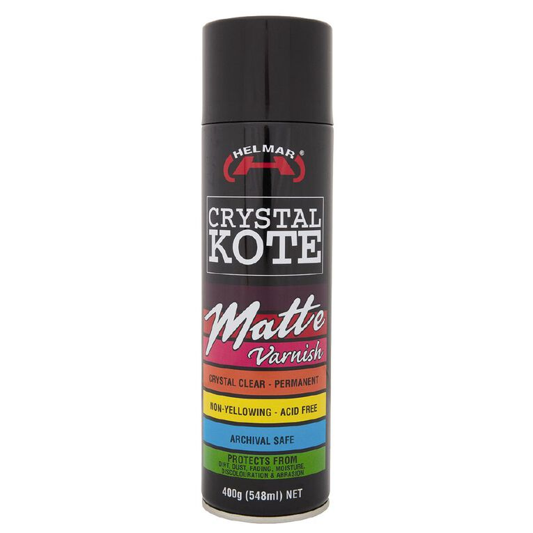 Helmar Varnish Crystal Kote Matte Clear, , hi-res