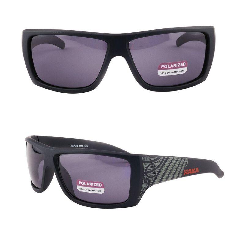 Men's Fern Wrap Sunglasses, Black, hi-res image number null