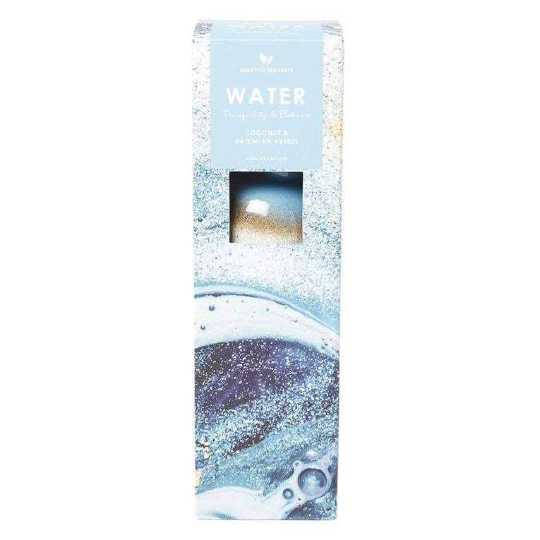 Living & Co Reactive Glazed Elements Water Diffuser Blue 150ml, Blue, hi-res